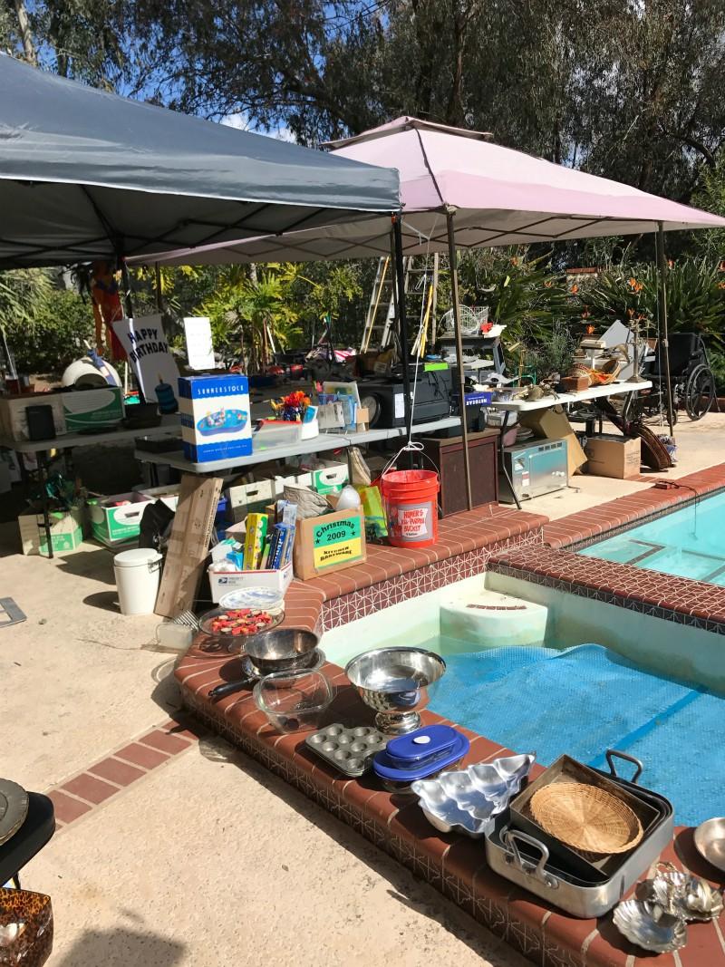 Solana Beach outdoor sale